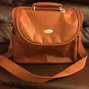 Vintage Diane Von Furstenberg overnight travel bag